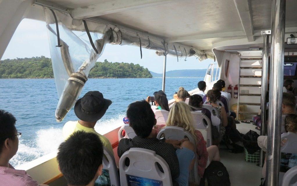 Faire une croisière pendant un voyage au Cambodge